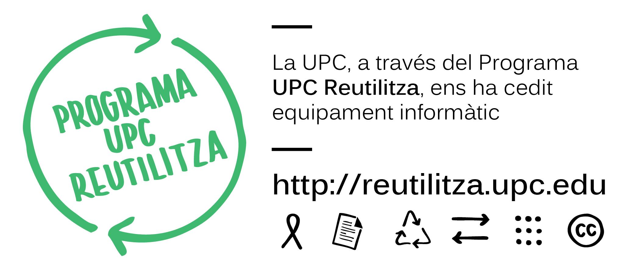UPC Reutilitza col·laborador petit